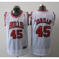 Bulls #45 Jordan White Stitched NBA Jersey