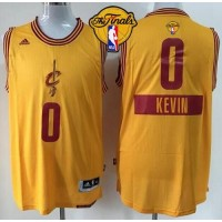 Cavaliers #0 Kevin Love Gold 2014-15 Christmas Day The Finals Patch Stitched Youth NBA Jersey