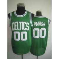 Celtics #00 Robert Parish Green Throwback Stitched NBA Jersey