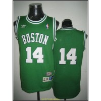 Celtics #14 Bob Cousy Stitched Green Throwback NBA Jersey