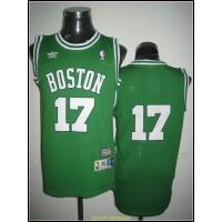 Celtics #17 John Havlicek Stitched Green Throwback NBA Jersey