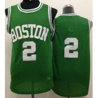 Celtics #2 Red Auerbach Green Throwback Stitched NBA Jersey