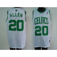 Celtics #20 Ray Allen Stitched White NBA Jersey