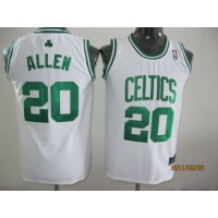 Celtics #20 Ray Allen White Stitched Youth NBA Jersey