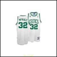 Celtics #32 Kevin Mchale Stitched White Throwback NBA Jersey