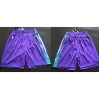 Charlotte Hornets Purple NBA Shorts
