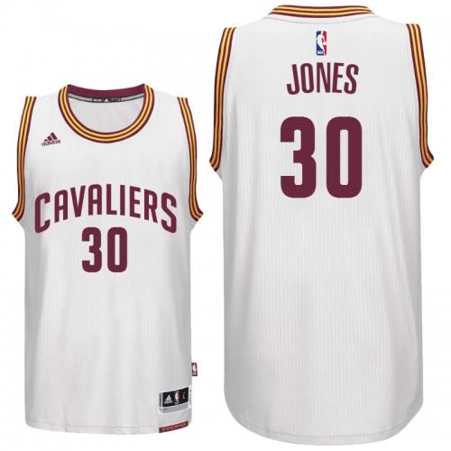 new concept d5a4e 65f91 Cleveland Cavaliers #30 Dahntay Jones New Swingman White ...