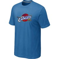 Cleveland Cavaliers Big & Tall Primary Logo Light Blue T-Shirt
