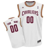 Cleveland Cavaliers Customized White Adidas Jersey