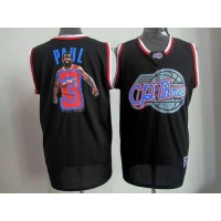 Clippers #3 Chris Paul Black Notorious Stitched NBA Jersey