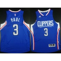 Clippers #3 Chris Paul Blue Stitched NBA Jersey