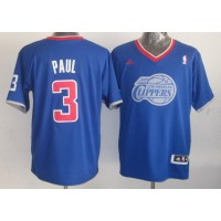 Clippers #3 Chris Paul Light Blue 2013 Christmas Day Swingman Stitched NBA Jersey