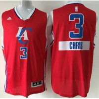 Clippers #3 Chris Paul Red 2014-15 Christmas Day Stitched NBA Jersey