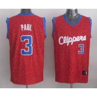 Clippers #3 Chris Paul Red Crazy Light Stitched NBA Jersey