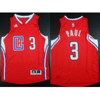 Clippers #3 Chris Paul Red Revolution 30 Stitched NBA Jersey