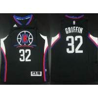 Clippers #32 Blake Griffin Black Alternate Stitched NBA Jersey