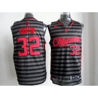 Clippers #32 Blake Griffin BlackGrey Groove Stitched NBA Jersey