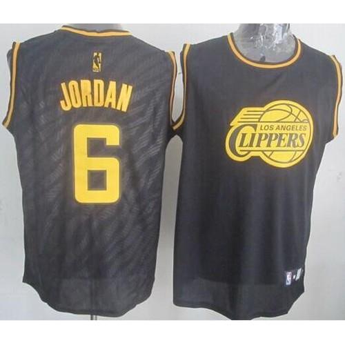 c8047e9a907 ... spain clippers 6 deandre jordan black precious metals fashion stitched nba  jersey be9e1 e145f