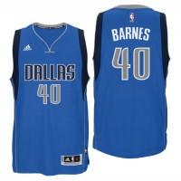 Dallas Mavericks #40 Harrison Barnes New Swingman Road Blue Jersey
