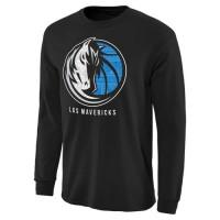 Dallas Mavericks Noches Enebea Long Sleeves T-Shirt Black