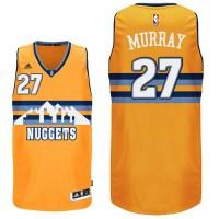 Denver Nuggets #27 Jamal Murray Gold Alternate Swingman Jersey