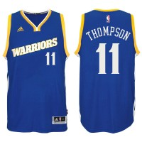 Golden State Warriors #11 Klay Thompson 2016-17 Crossover Alternate Blue New Swingman Jersey