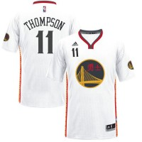 Golden State Warriors #11 Klay Thompson White 2017 Chinese New Year Stitched NBA Jersey