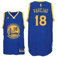 Golden State Warriors #18 Anderson Varejao 2015-16 New Swingman Road Blue Jersey