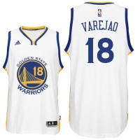 Golden State Warriors #18 Anderson Varejao New Swingman Home White Jersey
