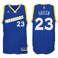 Golden State Warriors #23 Draymond Green 2016-17 Crossover Alternate Blue New Swingman Jersey
