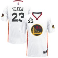 Golden State Warriors #23 Draymond Green White 2017 Chinese New Year Stitched NBA Jersey