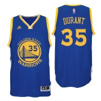 Golden State Warriors #35 Kevin Durant 2016 Road Blue New Swingamn Jersey