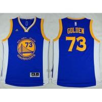 Golden State Warriors #73 Golden Blue 73 Wins Stitched NBA Jersey