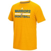 Golden State Warriors Adidas On-Court Climalite Ultimate T-Shirt Gold