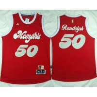 Grizzlies #50 Zach Randolph Red 2015-2016 Christmas Day Stitched NBA Jersey