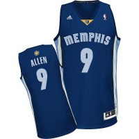 Grizzlies #9 Tony Allen Revolution 30 Dark Blue Stitched NBA Jersey