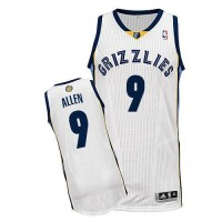 Grizzlies #9 Tony Allen Revolution 30 White Stitched NBA Jersey