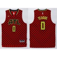Hawks #0 Jeff Teague Red Swingman Stitched NBA Jersey
