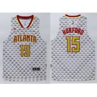 Hawks #15 Al Horford White Swingman Stitched NBA Jersey
