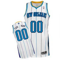 Hornets Personalized Authentic White NBA Jersey (S-3XL)