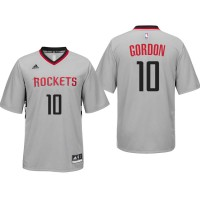 Houston Rockets #10 Eric Gordon Alternate Gray New Swingman Jersey