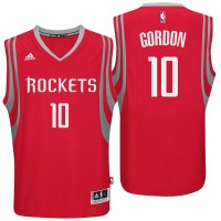 Houston Rockets #10 Eric Gordon Road Red New Swingman Jersey