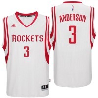 Houston Rockets #3 Ryan Anderson 2016 Home White New Swingman Jersey
