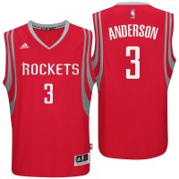 Houston Rockets #3 Ryan Anderson 2016 Road Red New Swingman Jersey