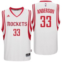 Houston Rockets #33 Ryan Anderson Home White New Swingman Jersey