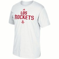 Houston Rockets Adidas Noches Ene-Be-A T-Shirt White