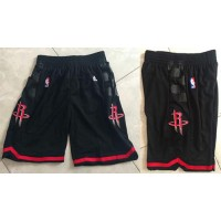 Houston Rockets Black NBA Shorts
