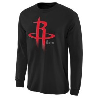 Houston Rockets Noches Enebea Long Sleeves T-Shirt Black