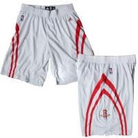 Houston Rockets White NBA Shorts