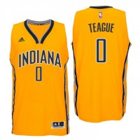 Indiana Pacers #0 Jeff Teague New Swingman Alternate Gold Jersey